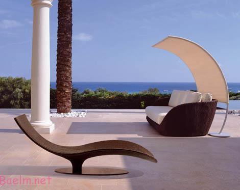 مبلمان لوکس و مدرن مخصوص خانه های ویلایی و لب دریا