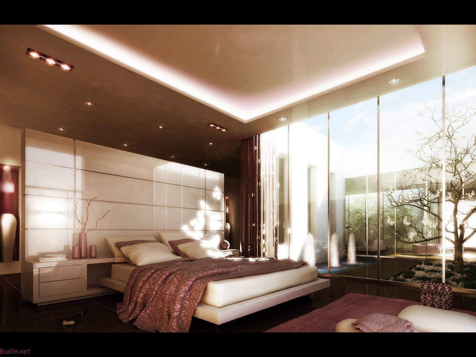 تزیین اتاق خواب رمانتیک ، اتاق خواب رمانتیک و لوکس با تزیینات شیک