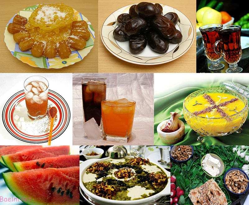 """تغذیه مناسب و اصولی برای وعده های """" سحری و افطار """""""