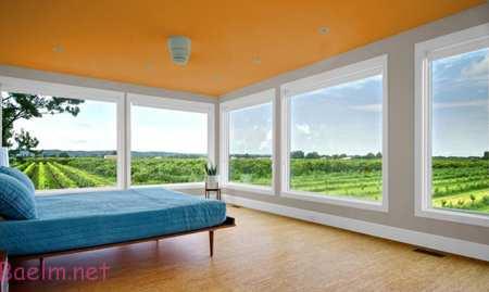 ترکیب رنگ های اتاق خواب,تاثیر رنگ در دکوراسیون منزل