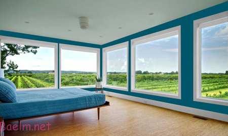 تاثیر رنگ ها در دکوراسیون, ترکیب رنگ های مناسب اتاق خواب