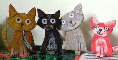 آموزش کاردستی گربه