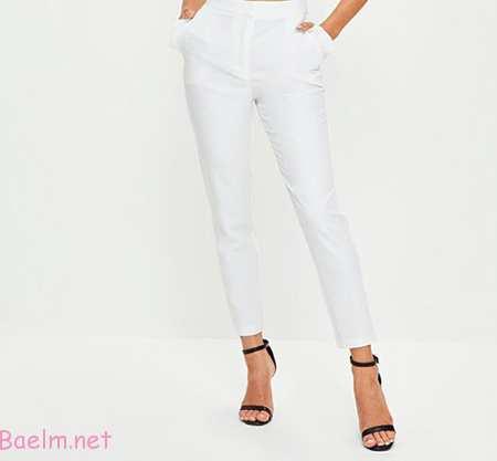 راهنمای پوشیدن شلوار سفید,مهارت های خرید و پوشش شلوار سفید