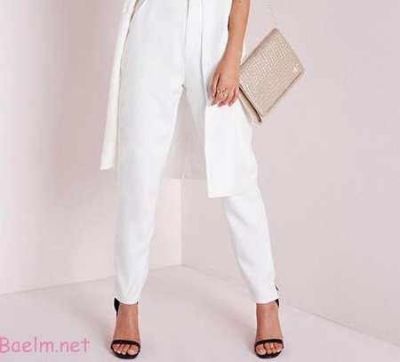اصول پوشیدن شلوار سفید,نحوه پوشش شلوار سفید