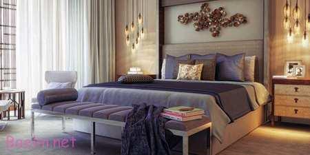 رنگ های مناسب اتاق خواب های رمانتیک,دکوراسیون و چیدمان اتاق خواب های رمانتیک