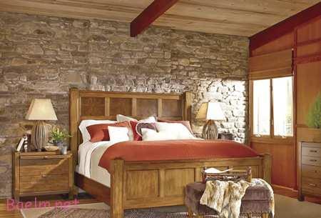 سبک های متفاوت چیدمان اتاق خواب,طراحی اتاق خواب با سبک های طبیعت