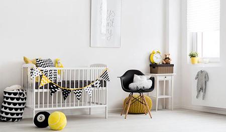 بهترین جهتها برای ننو یا گهواره تکنیک های چیدمان اتاق نوزاد, نکاتی کلیدی برای دکوراسیون اتاق نوزاد
