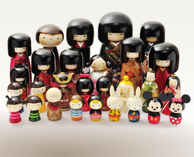 در کشور ژاپن از عروسک هایی به اسم kokeshi doll برای اینکار استفاده میکنند .