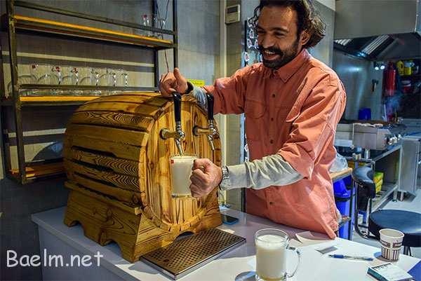 طعم متفاوت برگر در برگرویل مهرشهر