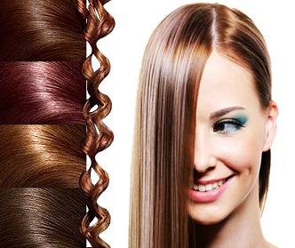 رنگ کردن دوباره مو