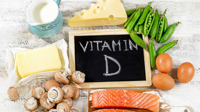 مواد حاوی ویتامین d, درمان کمبود ویتامین d