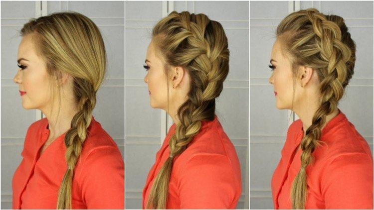 موهای خود را ببافید و بدرخشید