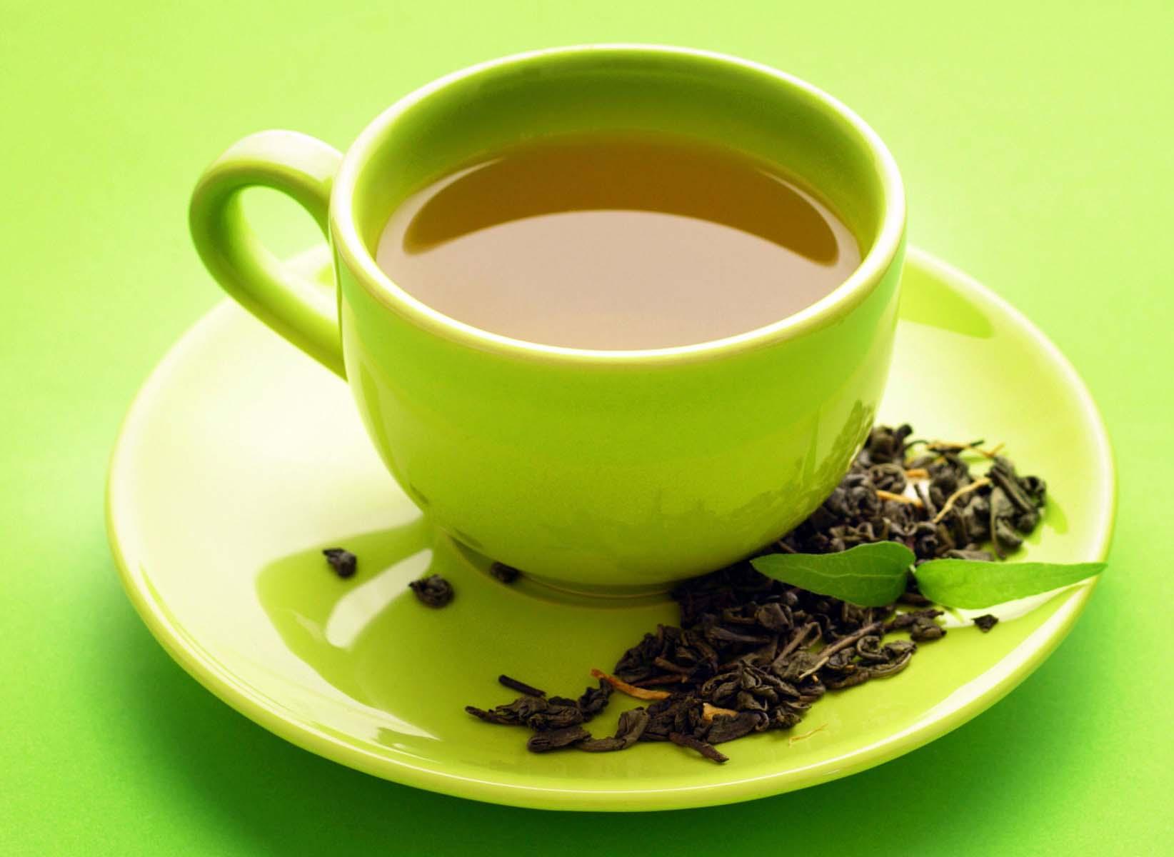 چطور ماسک چای سبز درست کنیم ؟