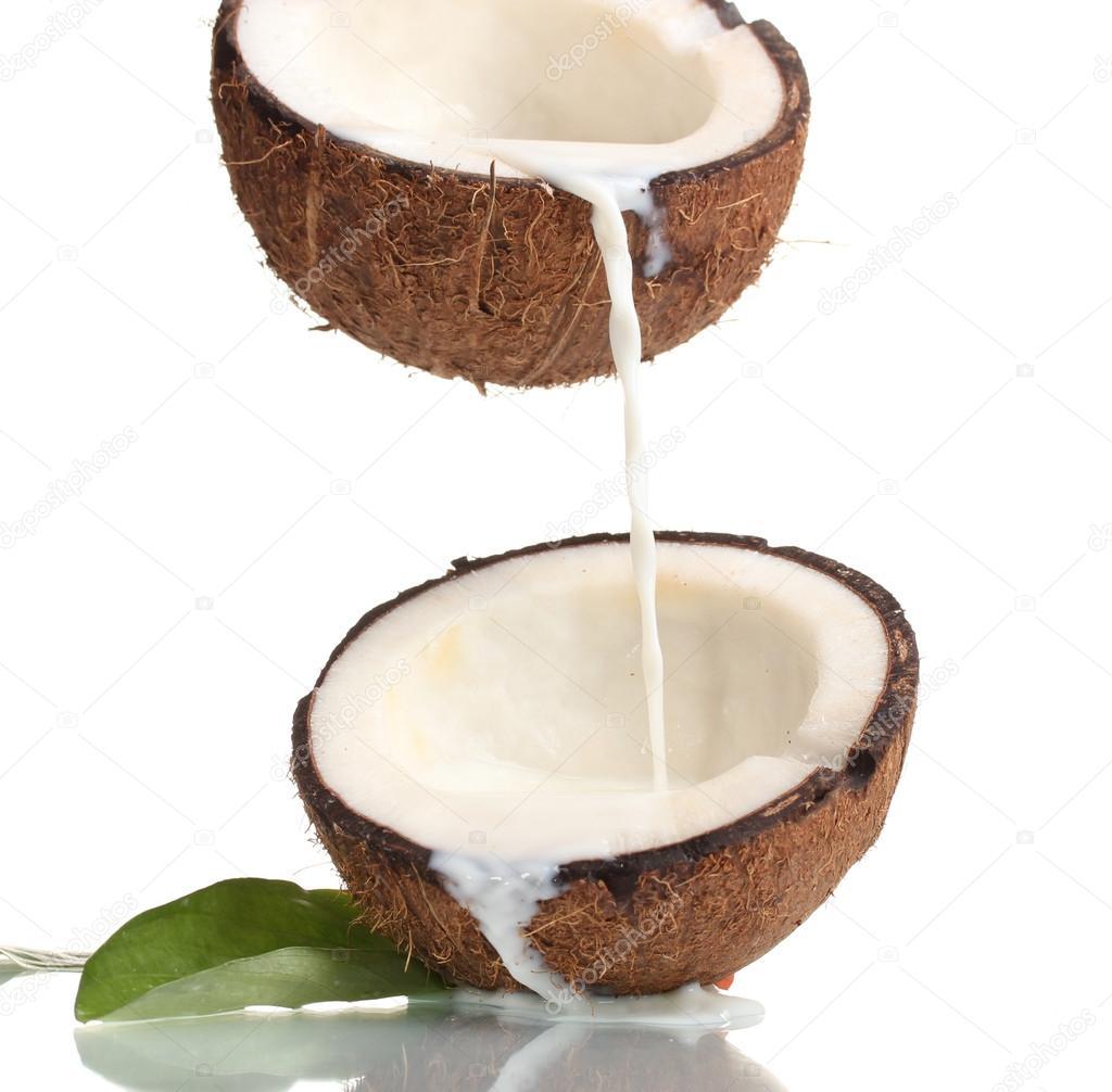 شیر نارگیل به درمان آفتاب سوختگی کمک می کند