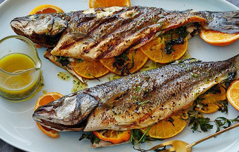 ماهی قزل آلا و ماهی خال مخالی