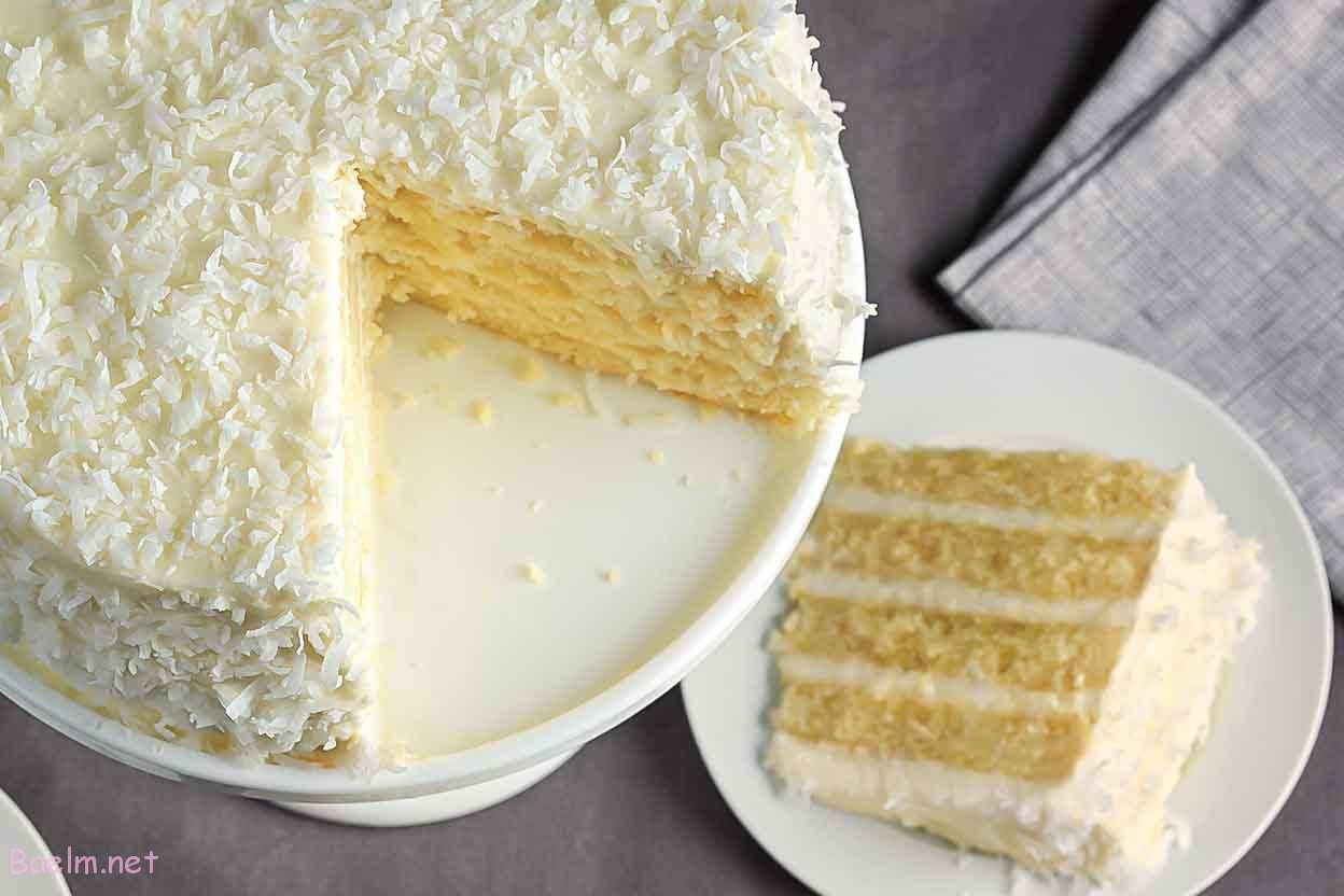 نحوه درست کردن کیک نارگیلی,نکاتی برای پخت کیک نارگیلی