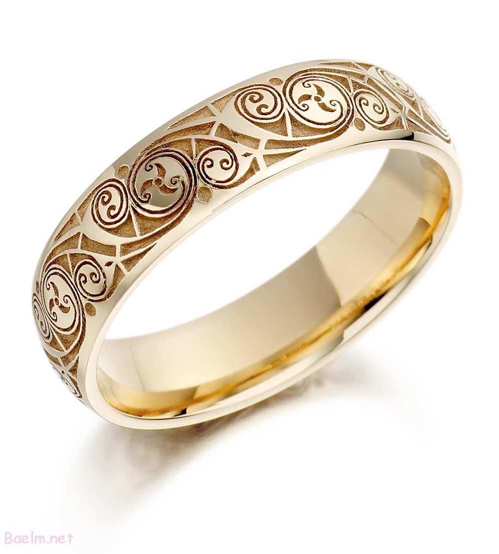 حلقه طلایی مدل زیبا و جدید و شیک