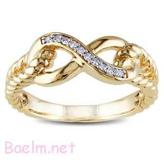 حلقه نامزدی زنانه - انگشتر طلا