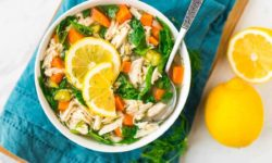 سوپ مرغ با انواع سبزیجات | طرز تهیه غذای رژیمی و خوشمزه