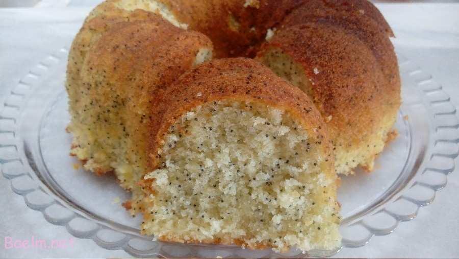 نحوه پخت کیک خرفه زعفرانی, دستور تهیه کیک خرفه زعفرانی