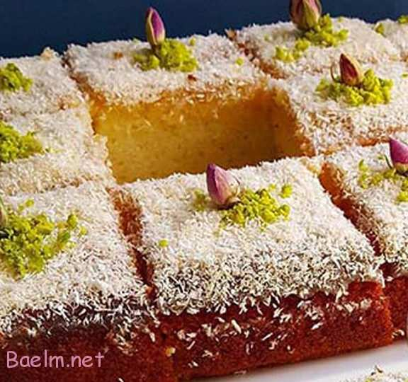 نحوه درست کردن کیک شنی،کیک شنی