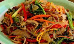 خوراک گوشت با انواع سبزیجات | خوراک مجلسی و خوشمزه