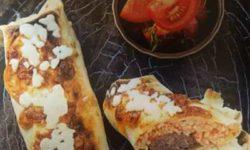 طرز تهیه ساندویچ کوفته و دوروم پلو با پنیر چدار | غذای جدید