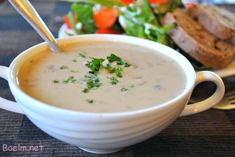 طرز تهیه و آموزش سوپ خامه ای با گردو