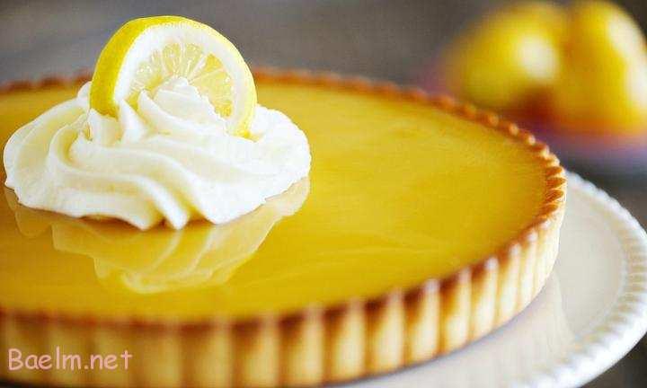 دستور تهیه دسر تارت لیمو،نحوه درست کردن تارت لیمویی