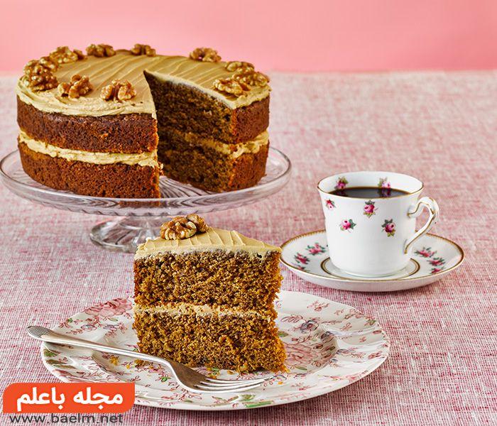 طرز پخت کیک صبحانه,طرز تهیه کیک زردآلو,پخت کیک زردآلو