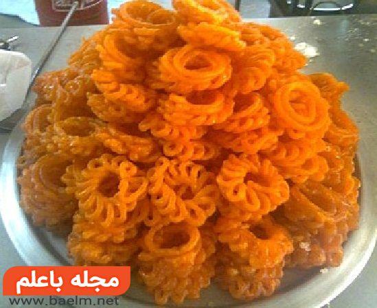 زولبیای مصری پخت زولبیای مصری طرز تهیه زولبیای مصری