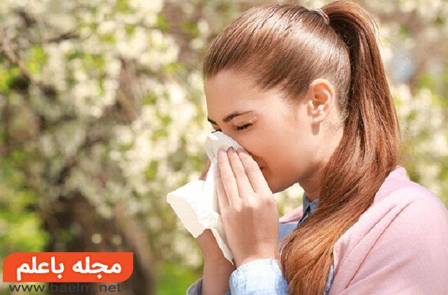 راههای جلوگیری از تشدید آلرژی،درمان آلرژی تنفسی,علائم آلرژی