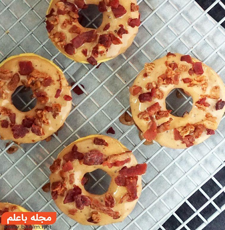پیتزا دونات,طرز پخت پیتزا دونات,دونات پیتزا