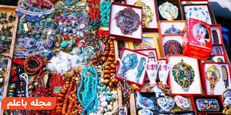 درای بریج مارکت تفلیس Dry Bridge Market Tbilisi