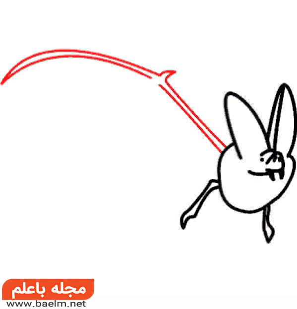 آموزش مرحله به مرحله کشیدن نقاشی خفاش,مراحل کشیدن نقاشی خفاش5