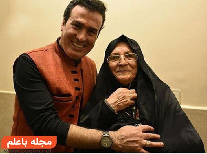 بیوگرافی و عکس رحیم شهریاری و مادرش