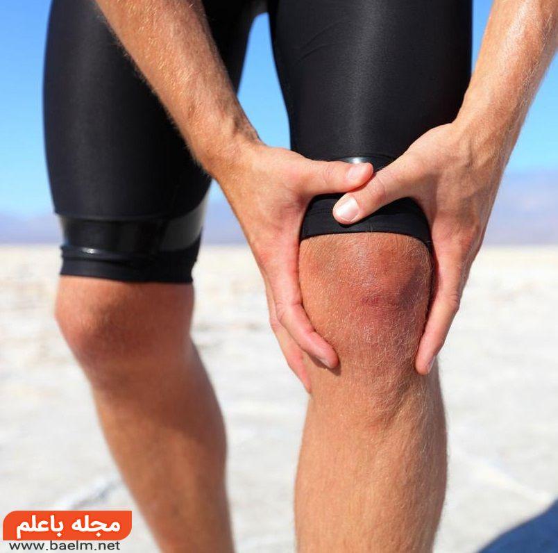 رابطه درمان درد زانو و ورزش,زانو درد بر اثر ورزش