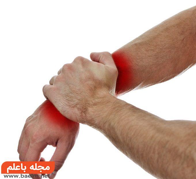 راههای درمان انواع درد مچ دست ، درد مچ دست