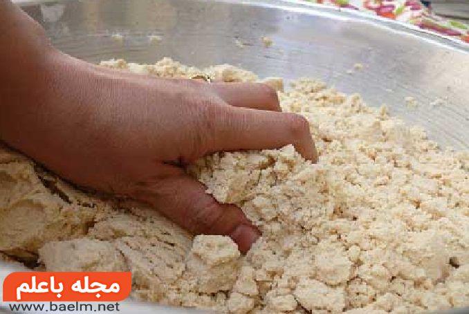 حلوای زنجبیلی,درست کردن حلوای زنجبیل,طرز تهیه حلوای زنجبیل