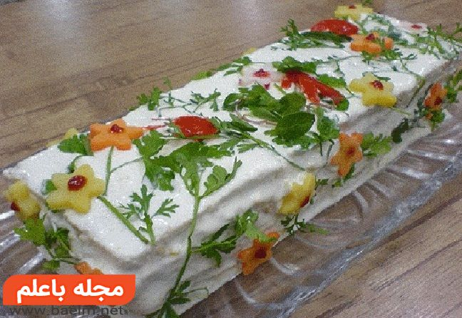 سالاد پنیر قالبی، آموزش و طرز تهیه سالاد پنیر قالبی