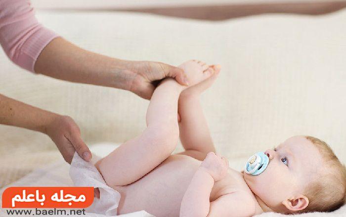 دلایل يبوست شيرخواران,درمان خانگی يبوست نوزادان,درمان يبوست کودکان