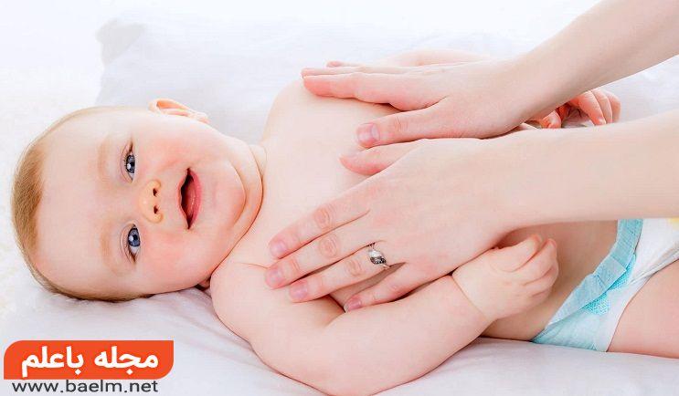 درمان کم خوابی نوزاد با ماساژ نوزاد,راهکارهای طب سنتی برای تنظیم خواب نوزاد