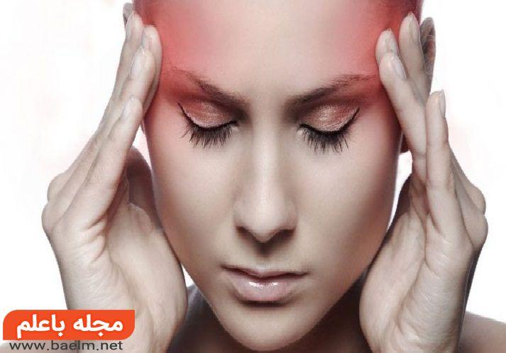 علائم سردرد عصبی,علائم سردرد خطرناک,علائم سردرد تومور مغزی