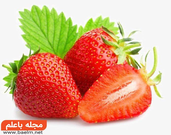 خواص توت فرنگی برای پوست و مو,مضرات توت فرنگی,فواید توت فرنگی برای بارداری