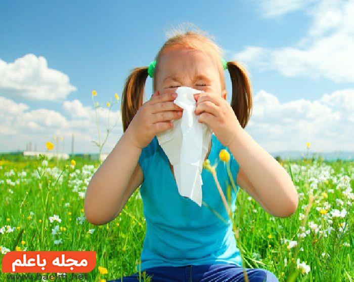 آلرژی کودکان چیست و چگونه درمان می شود؟,علائم حساسیت و آلرژی کودکان