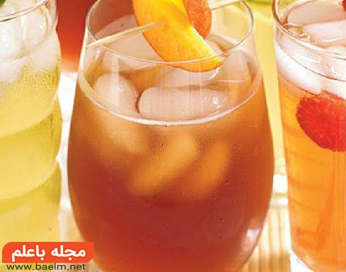 طرز تهیه شربت هلو,خواص شربت هلو خانگی,نحوه درست کردن شربت هلو