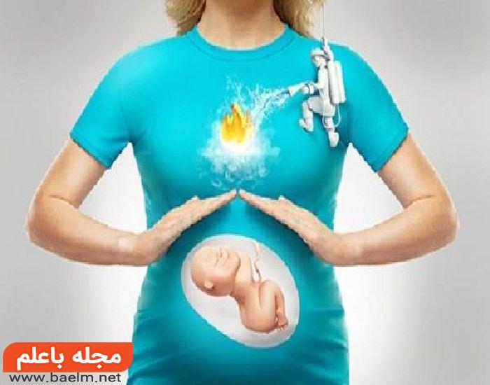 سوزش سردل,درمان سوزش سر معده در بارداری,پیشگیری از سوزش سر دل در بارداری