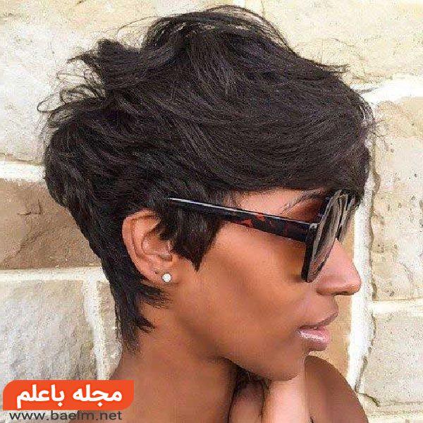 مدل موی کوتاه دخترانه 2018,مدل موی کوتاه برای صورت گرد,مدل موی کوتاه دخترانه