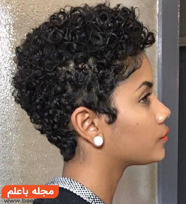مدل های کوتاهی مو,مدل مو کوتاه برای موهای فر,شیک ترین مدل های موی فر