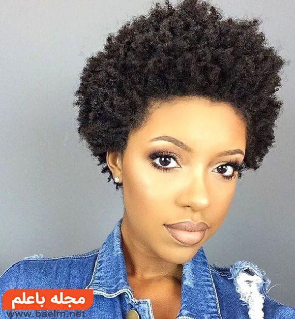 مدل مو برای موهای فر و وز,جدیدترین مدل آرایش موی فر کوتاه,مدل موی فر ریز 2018